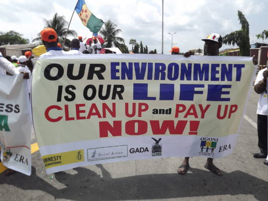 The inconsistencies in the security challenges facing the Ogoni clean-up