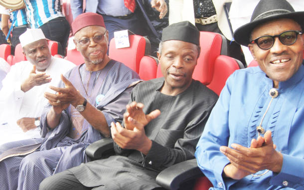 Buhari and APC: Of magic, chaanji and chains