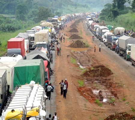 Motorists groan on Lagos-Ibadan expressway