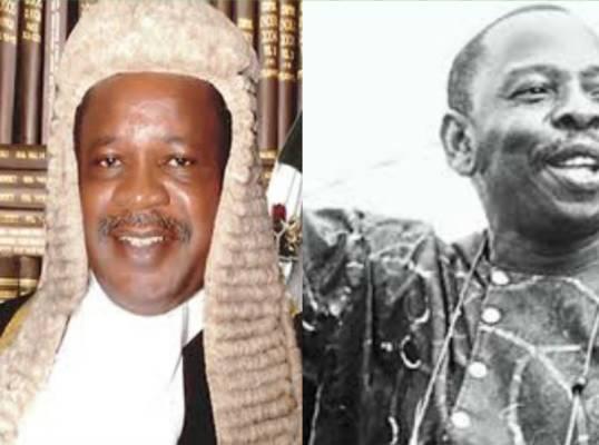 Justice Auta hanged Saro Wiwa: Nemesis arrives his home!