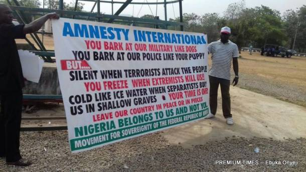 Groups decry attack on Amnesty International, say it is a huge setback for human rights in Nigeria