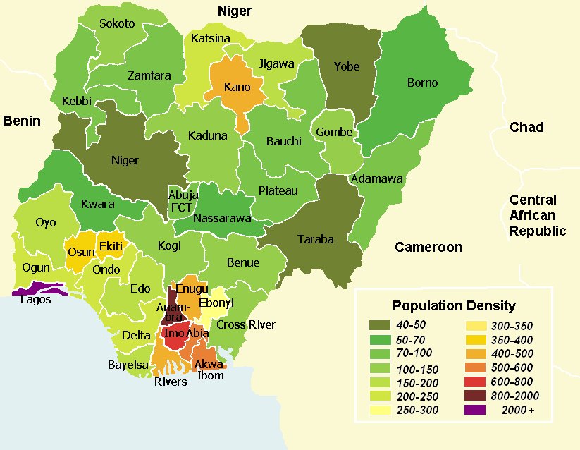 Political history of the creation of states in Nigeria