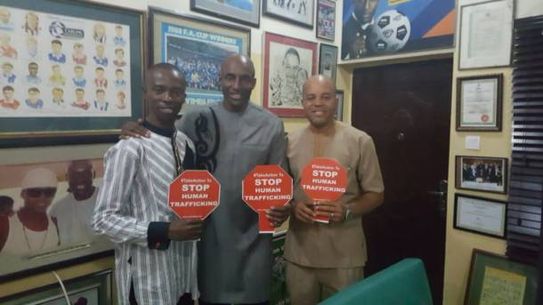 ''Even in Football, there is human trafficking'' – John Fashanu