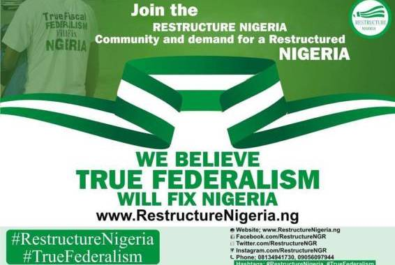 The unnecessary attempt to try to confuse Nigerians about the meaning of 'true federalism'