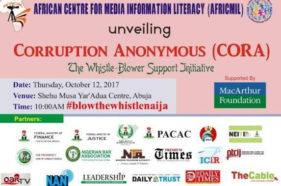 AFRICMIL to unveil whistle-blower support initiative