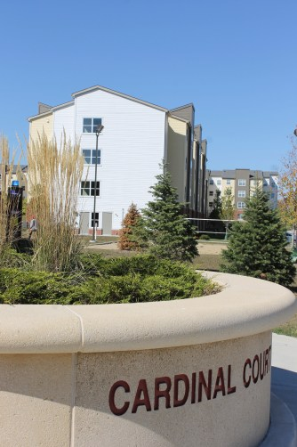 Cardinal Court Student Apartments at Illinois State University, Normal
