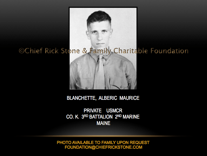 Blanchette, Alberic Maurice