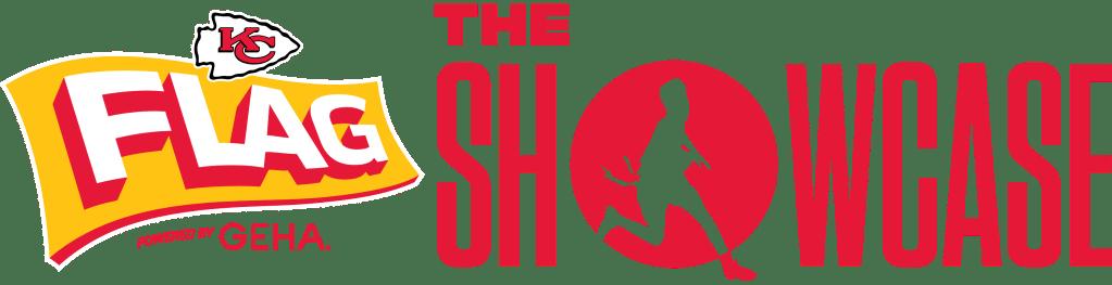 """Chiefs Flag """"The Showcase"""" Logo"""