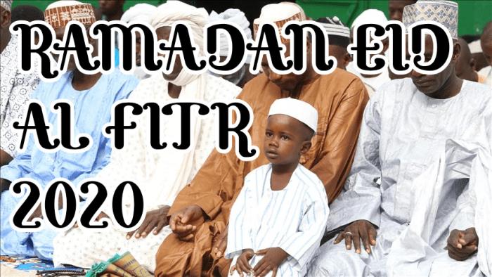 Ramadan Eid Al Fitr 2020. ChiefYuya.com