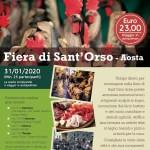 VIAGGI  –  Gita ad Aosta per la Fiera di Sant'Orso.