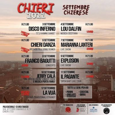 SETTEMBRE CHIERESE