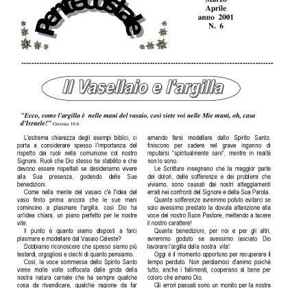 N. 6 | Anno 2001