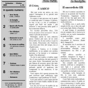 N. 31   Anno 2005