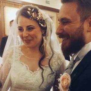 Luca e Sharon sposi