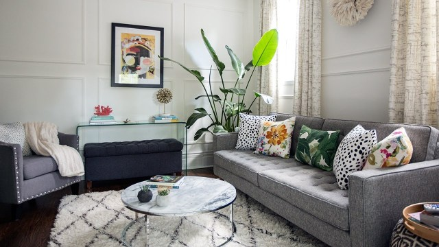 Interior Design — This Small Space Makeover Is Full Of DIY ...