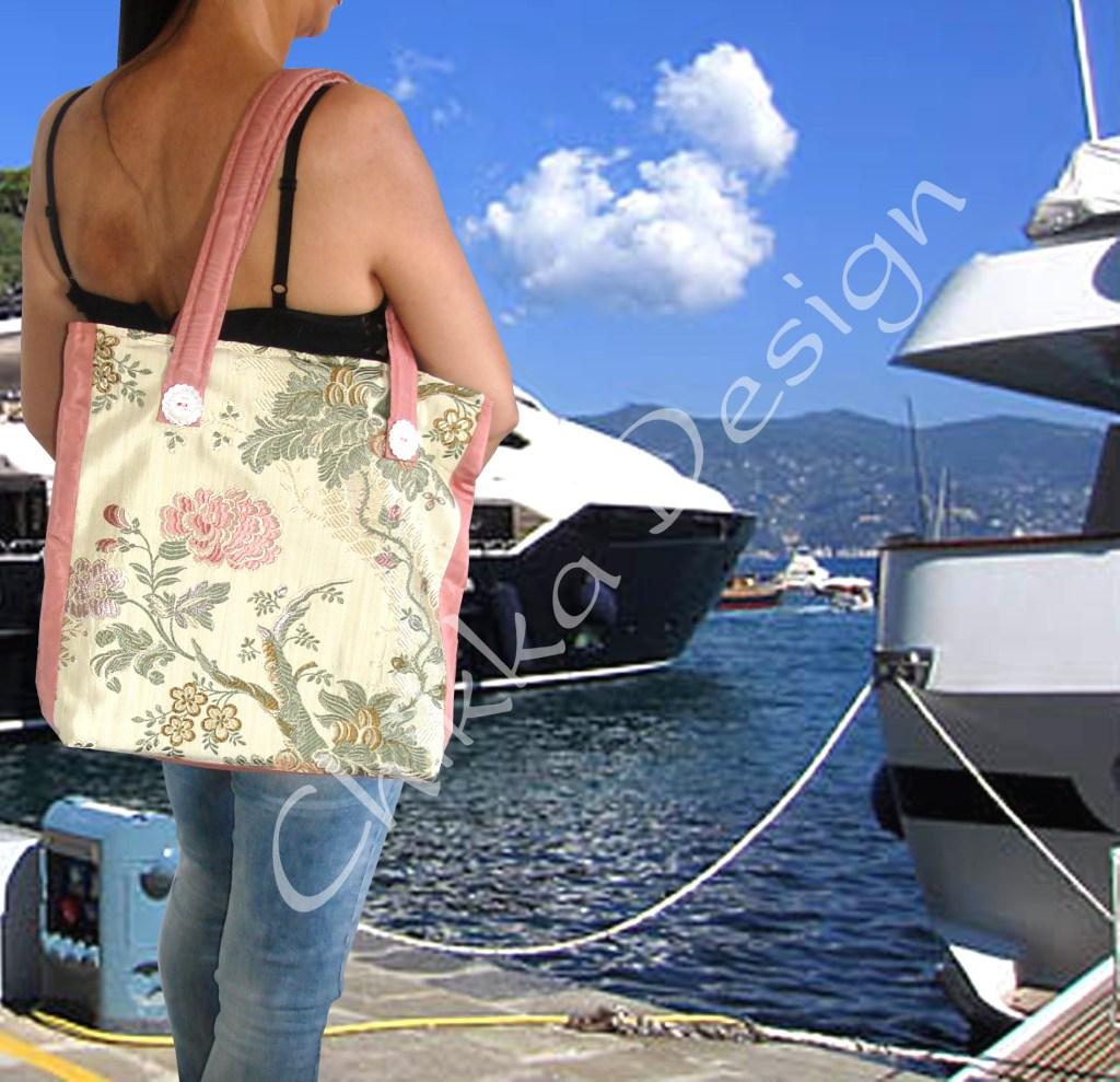 Chikka Design - Borse a spalla realizzate a mano con tessuto