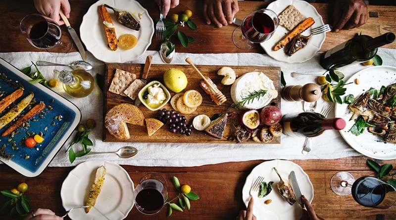Serving wine with holiday meals