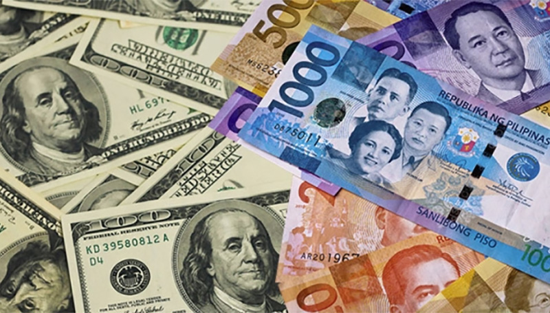 Foreign exchange dollar to philippine peso rate today
