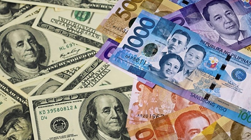 dollar to philippine peso rate today