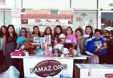 Filipino American Marriage-Group of Arizona (FAMAZ) Annual Toy Drive - 2019