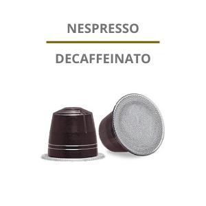 Capsule Nespresso Decaffeinato