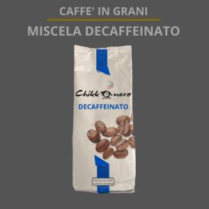 miscela decaffeinato prodotto