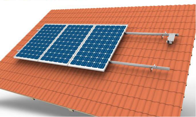 tile roof solar system chiko solar