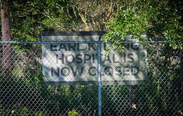 Earl K Long Hospital is now closed