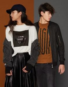 Cost:bart: Next Generation T-Shirt (29,95 €), Cardigan (79,95 €) Jeans (59,95 €), Top (39,95 €) Rock (49,95 €), Jacke (99,95 €) www.costbart.dk