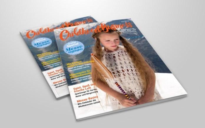 Cover der Ausgabe 03 2016 von Childhood Business
