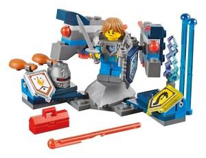 """Science-Fiction im Mittelalter: In der Spielwelt der """"Nexo Knights"""" von Lego treffen Ritter auf Computer."""