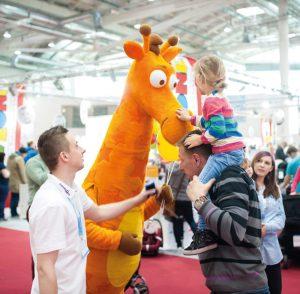 Messen zum Anfassen: Auch für Kinder wird auf den Events einiges geboten.