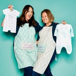Stephanie Grant und Donna Mantovani, von Poogy Bear, mit Babybekleidung und Heimtextilien