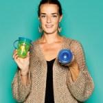 Delphine van Hecke,  von Nûby, New Valmar, mit 360 Grad Wondercups