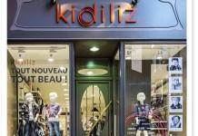 Schaufenster eines Kidiliz-Multibrand-Stores