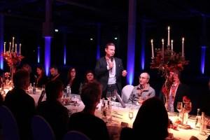 Open House im Messecenter Rhein-Main, Eröffnung durch Jens Frey, Geschäftsführer der Muveo