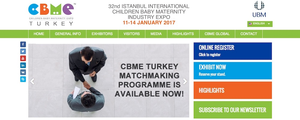 CBME Turkey im Januar 2017