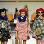 "Barcarola auf der Fashion-Show ""Fashion from Spain"" auf der Pitti Bimbo im Januar 2017"