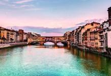 Pitti Bimbo im Januar 2017 im Florenz - Ponte Vecchio, Florence, Italy