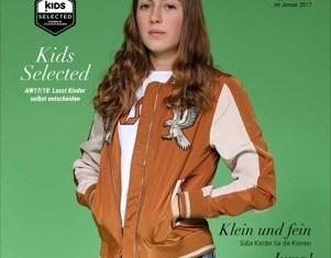 "Cover des Sonderheftes zum 2. Shooting ""Kids Selected"" während der ""Kids Now"" im Januar 2017"