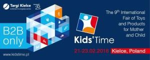 Die polnische Hartwarenmesse Kids Tiime im Februar 2018