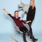 Raissa Welten und Lisa Ruiter von Coming Kids B.V.. Im Web unter: www.comingkids.nl – auf der Kind + Jugend 2017 beim Childhood-Business-Shooting 'My Favourite Item'