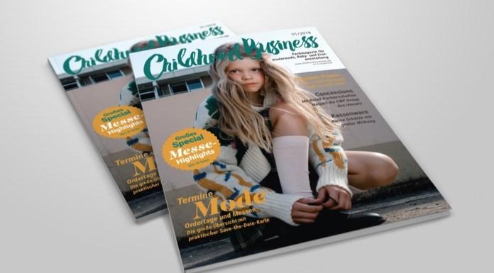 Cover der Ausgabe 01 2018 von Childhood Business