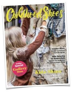"""Zur Messe """"Gallery Shoes"""" erscheint die 1. Ausgabe des neuen Magazins """"Childhood Shoes"""""""
