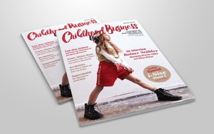 Cover der Ausgabe 05-06 2018 von Childhood Business