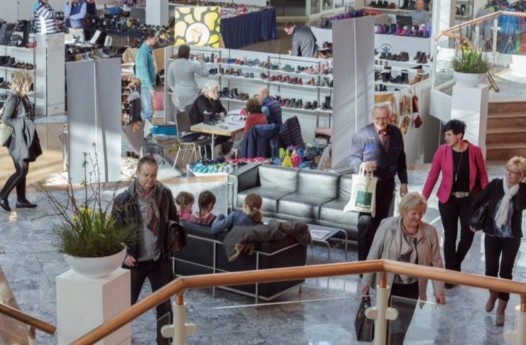 Die Quarterkids findet im Foyer sowie in einem Flügel des Order-Centers in Schkeuditz statt.
