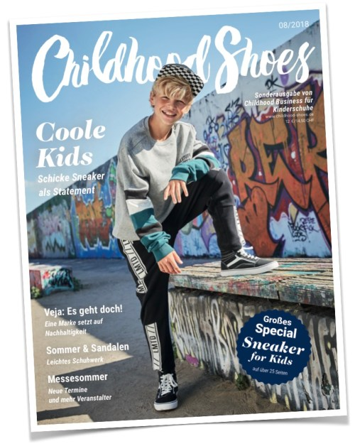 1 von2 Covern der Ausgabe 08/2018 (Childhood Shoes) - Version B