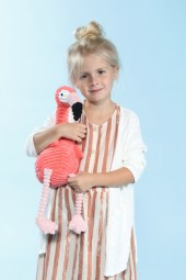 Mia mit Play-up beim Childhood-Business-Shooting auf der Kids Now im Sommer 2018