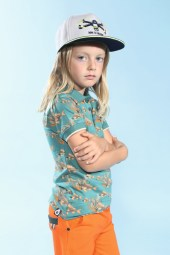 Ben-Luka mit 4funkyflavours, Hut von Maximo beim Childhood-Business-Shooting auf der Kids Now im Sommer 2018