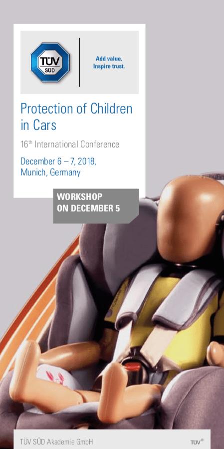 16. Konferenz - Protection of Children in Cars